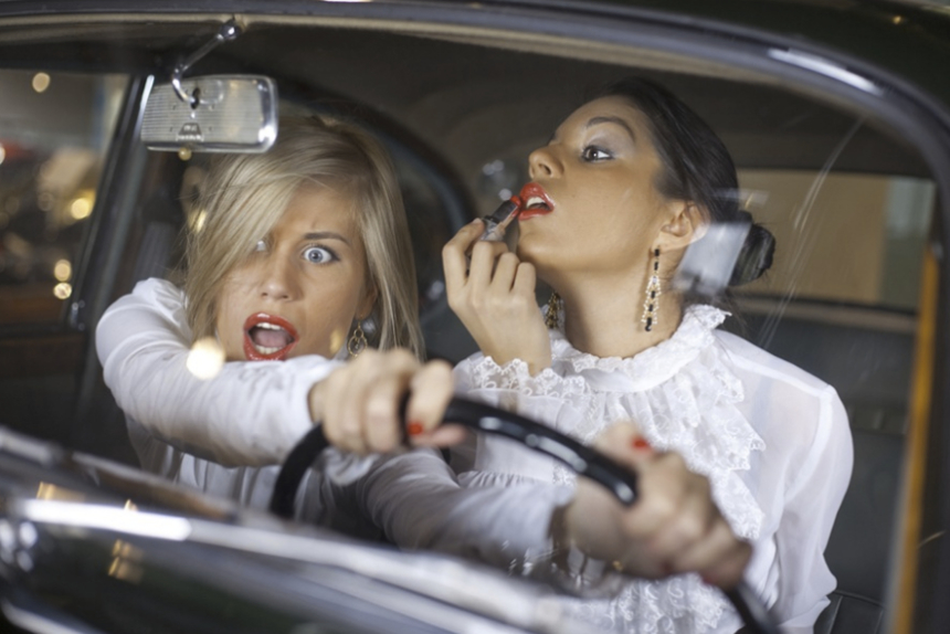 Правила поведения за рулем