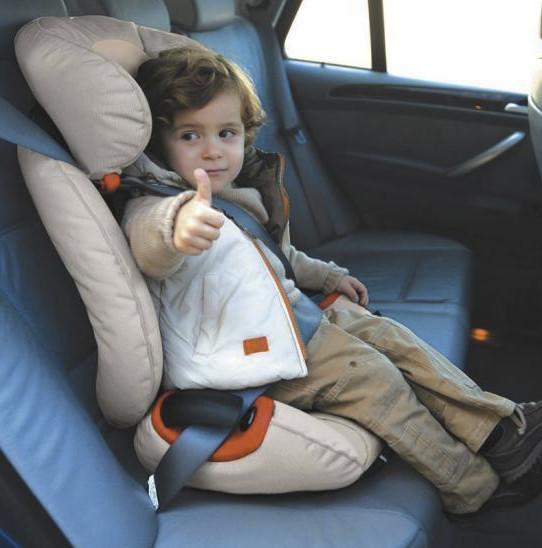 Безопасность детей в авто