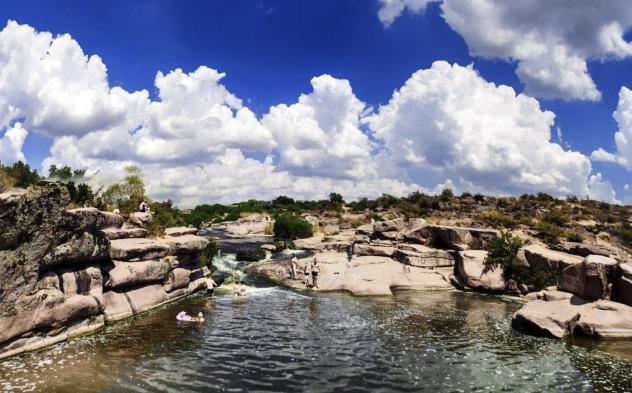 Степной водопад
