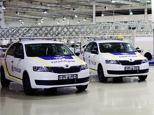 Национальная полиция получила новые автомобили SKODA